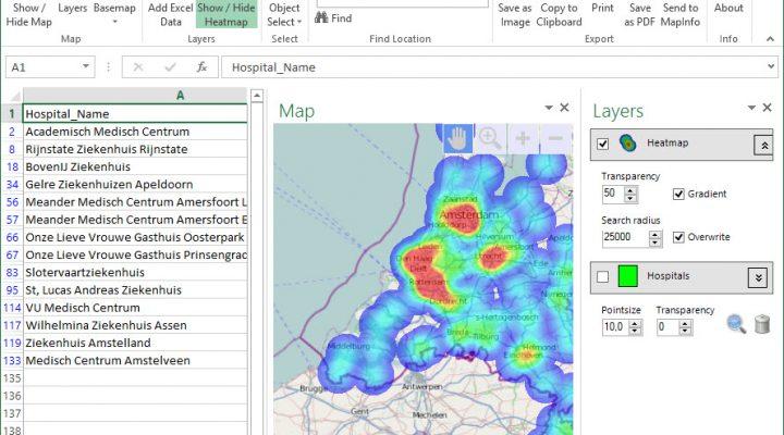 14 dagen Excel E-Maps