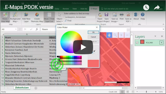 E-Maps PDOK video