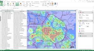 E-Maps heatmap
