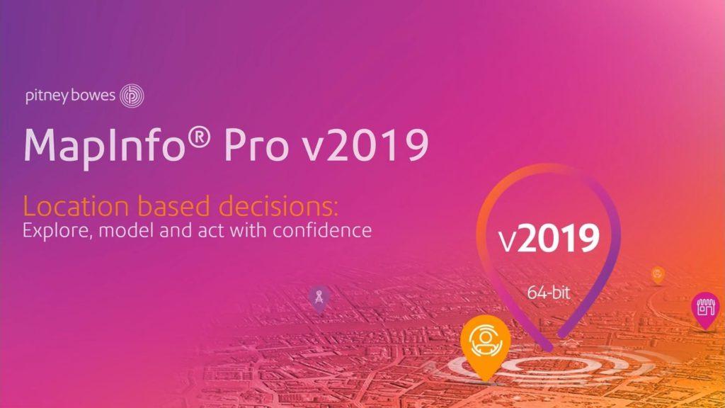MapInfo Pro 2019 header