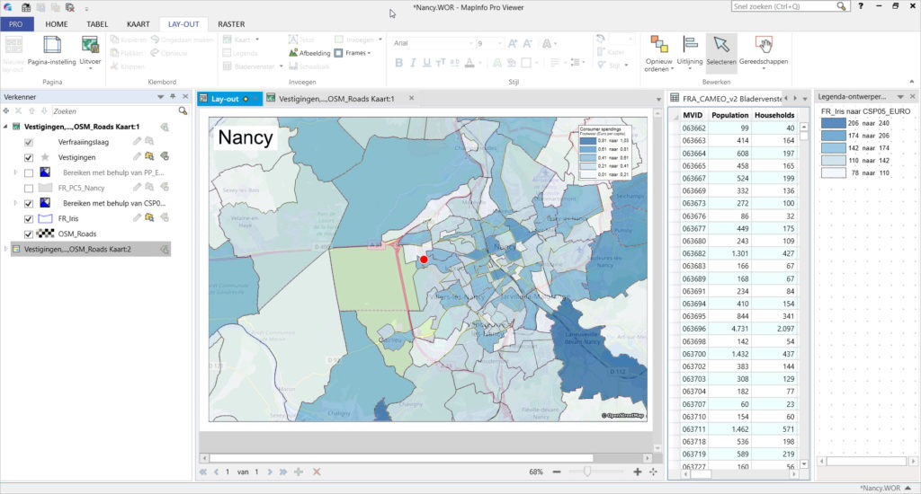 MapInfo Viewer